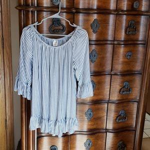 Stripped long shirt
